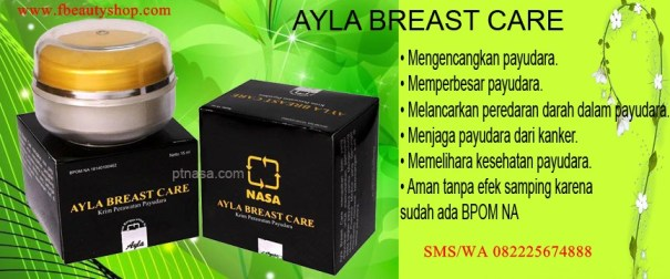 ayla breast care asli nasa