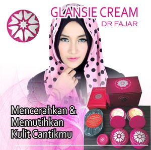 cream glansie asli