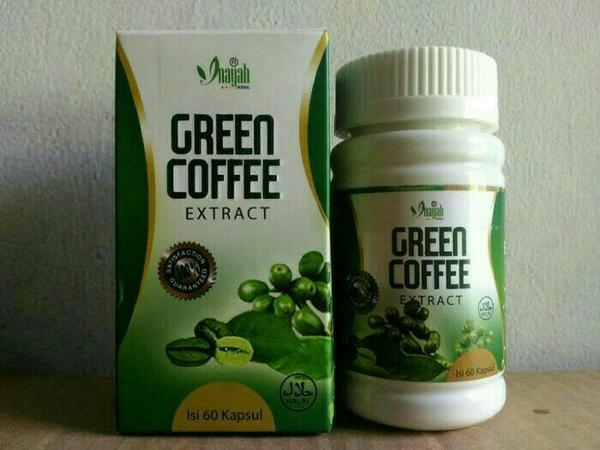 Kapsul Green Coffee Extract Inayah