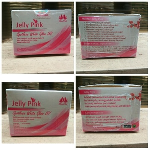 Jelly Face Been Pink BPOM Spotless WhitE Glow UV