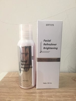 facial wash brightening Ertos