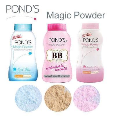 ponds bb magic powder asli