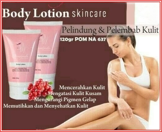 Beauty Colla Whitening Body Lotion dan Body Scrub BPOM