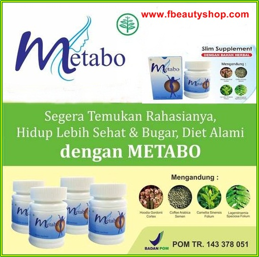 Metabo Slim herbal pelangsing