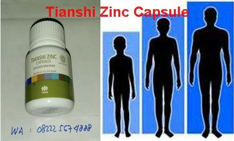 Tianshi Zinc Peninggi Badan
