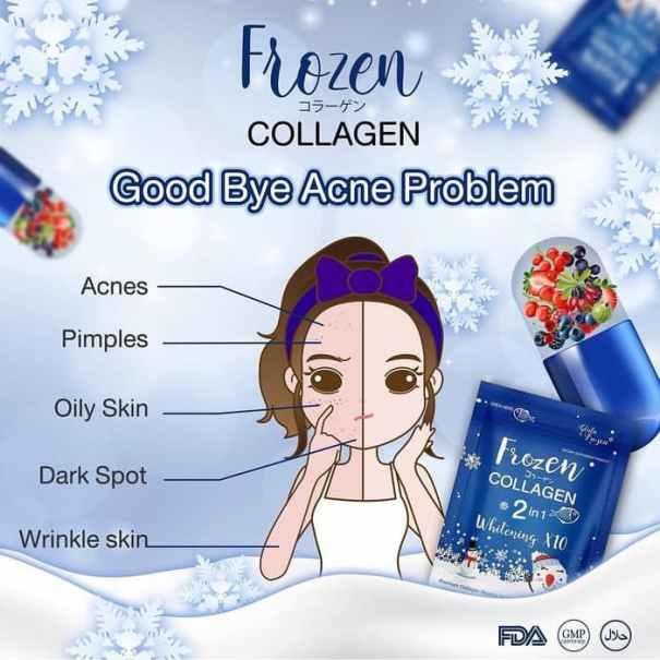 frozen collagen kapsul pemutih