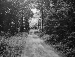 Isolated secret FBI radio transmission location during World War II on Long Island