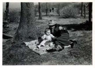 FBI Agent Donworth Johnson and daughter Vicki Jean