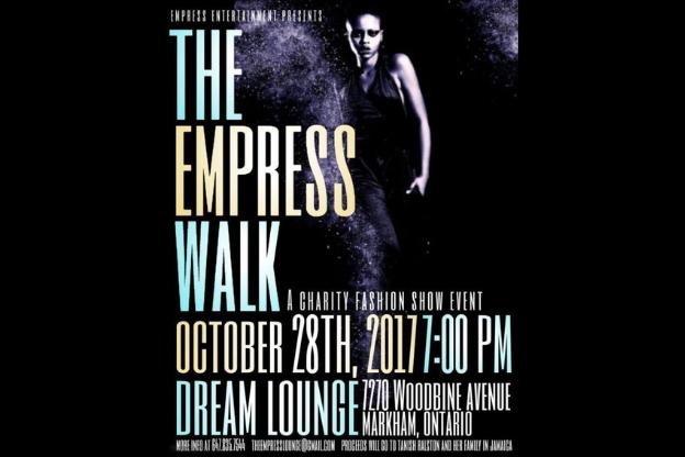 FBI Style Sponsors The Empress Walk Charity Fashion Show