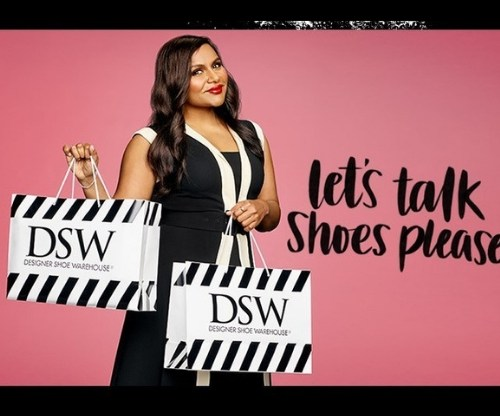 Mindy Kaling is DSW's New BFF