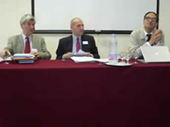 Professor V Bogdanor, Brasenose College, Oxford University, M Guy Canivet, P Brunet, Universite Paris Ouest Nanterre-La-Defense