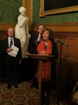 Welcome by the Lord Speaker, Baroness D'Souza: Lord Speaker, President, Lord Hope, Robert Stevenson, Vice Président