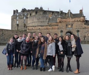 M2 Droit Notarial in Edinburgh Castle (2017) Liliane Nau