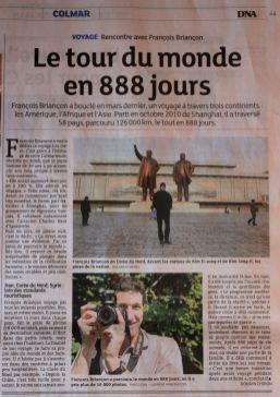 Dernières Nouvelles d'Alsace, 06/2013