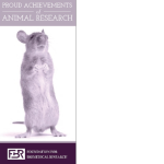 Proud Achievements of Animal Research