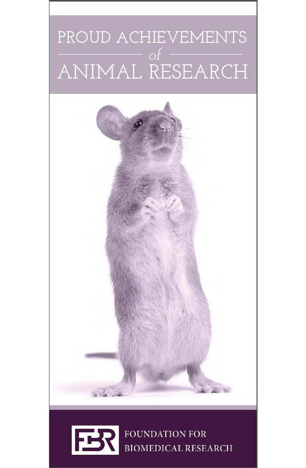 Fact vs. Myth - The essential need for animals in biomedical research brochure