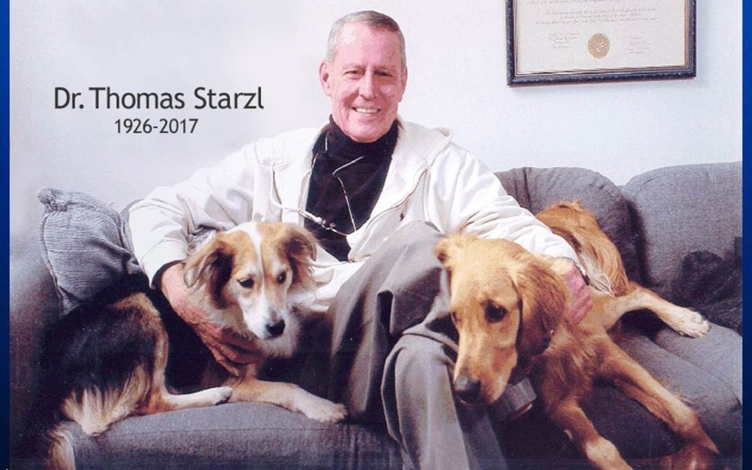 Dr. Thomas Starzl: Transplant Pioneer, Animal Research Advocate
