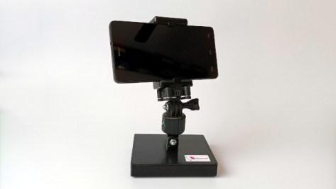Soporte giratorio para cámaras