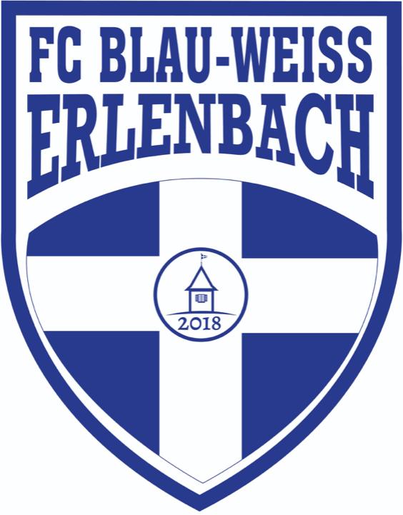 Vereinswappen FC Blau-Weiss Erlenbach