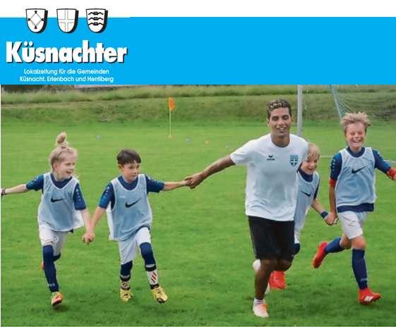 19. November 2020Erlenbach startet mit Juniorenfussball