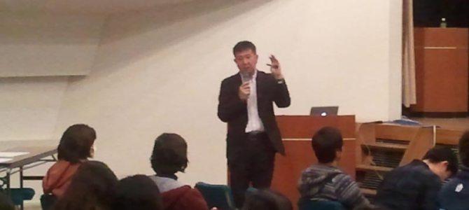 中山雅雄先生の講演会「我が子が一番でいいんじゃないですか」