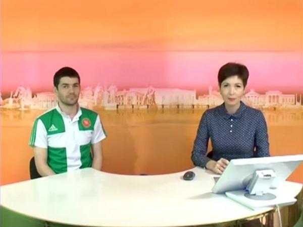 """Карен Мкртчян – гость программы """"Спортивное обозрение"""""""