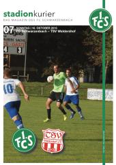 Stadionkurier FCS vs TSV Waldershof