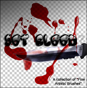 gimp blood brushes