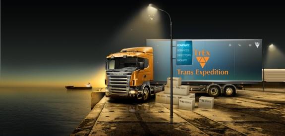 shipping web design
