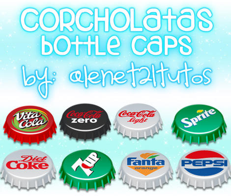 Bottle Caps Icon Pack
