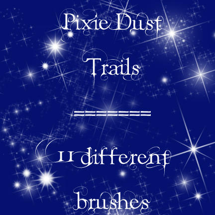 Pixie Dust Photoshop brush