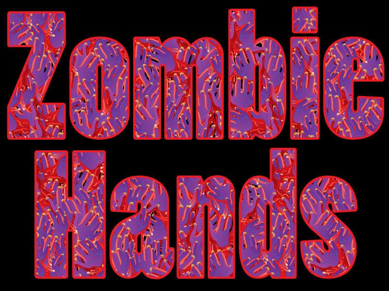 Zombie Hands pattern