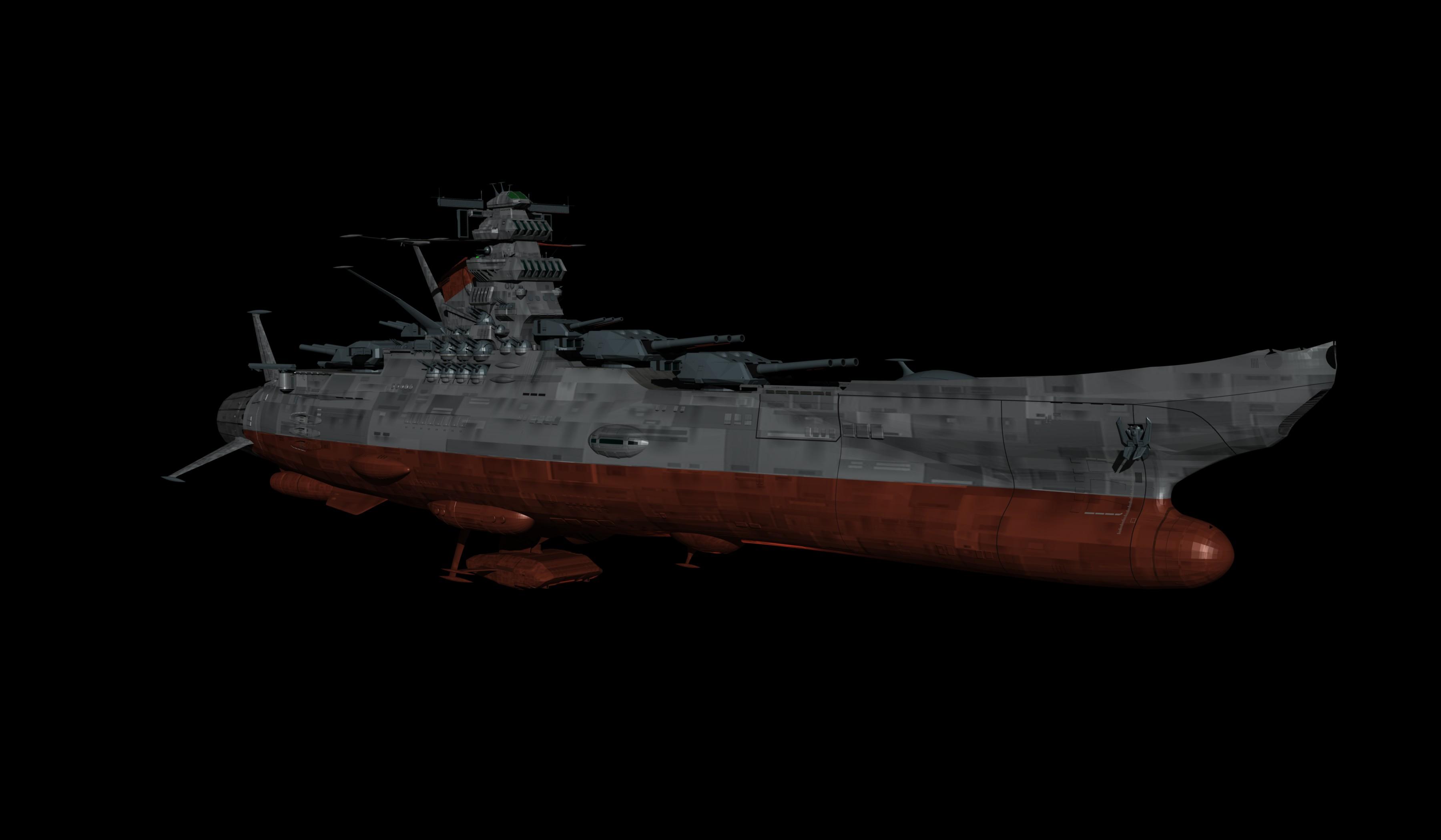Space Battleship Yamato Cake Ideas And Designs
