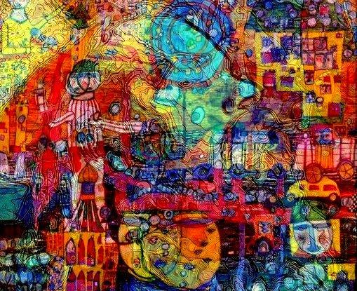 Hundertwasser In My Mind By Santosam81 On DeviantArt