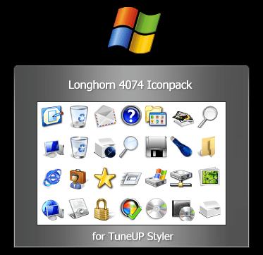 Longhorn Reloaded 4074 Icon Pack