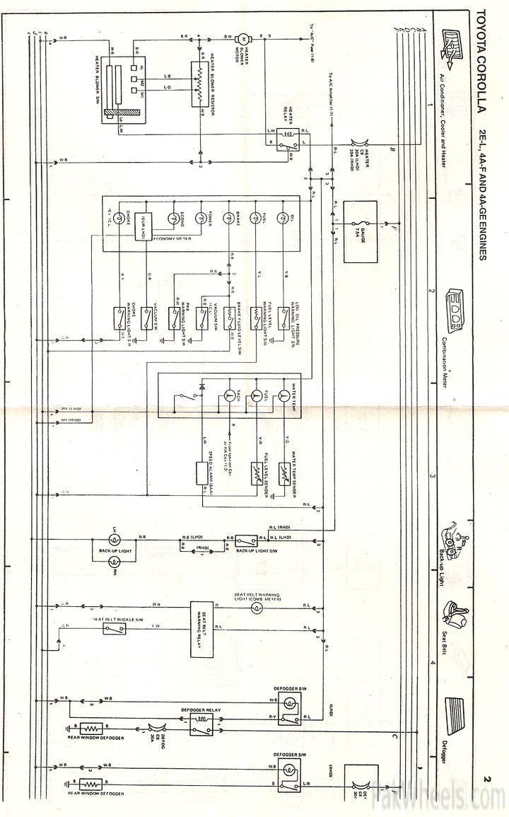 Toyota Corolla Repair Manual For Ee90 Ae92 From 1987 91