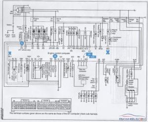 Mira LEL250V 2006 Wiring diagram  Cuore  PakWheels Forums