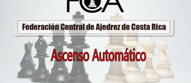 Modificación de Requisitos para Torneos de Ascenso Directo