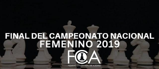 Bases Final Nacional Femenina 2019