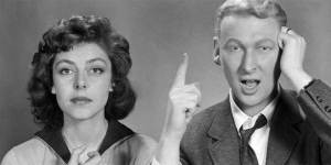 Comedy team May and Nichols