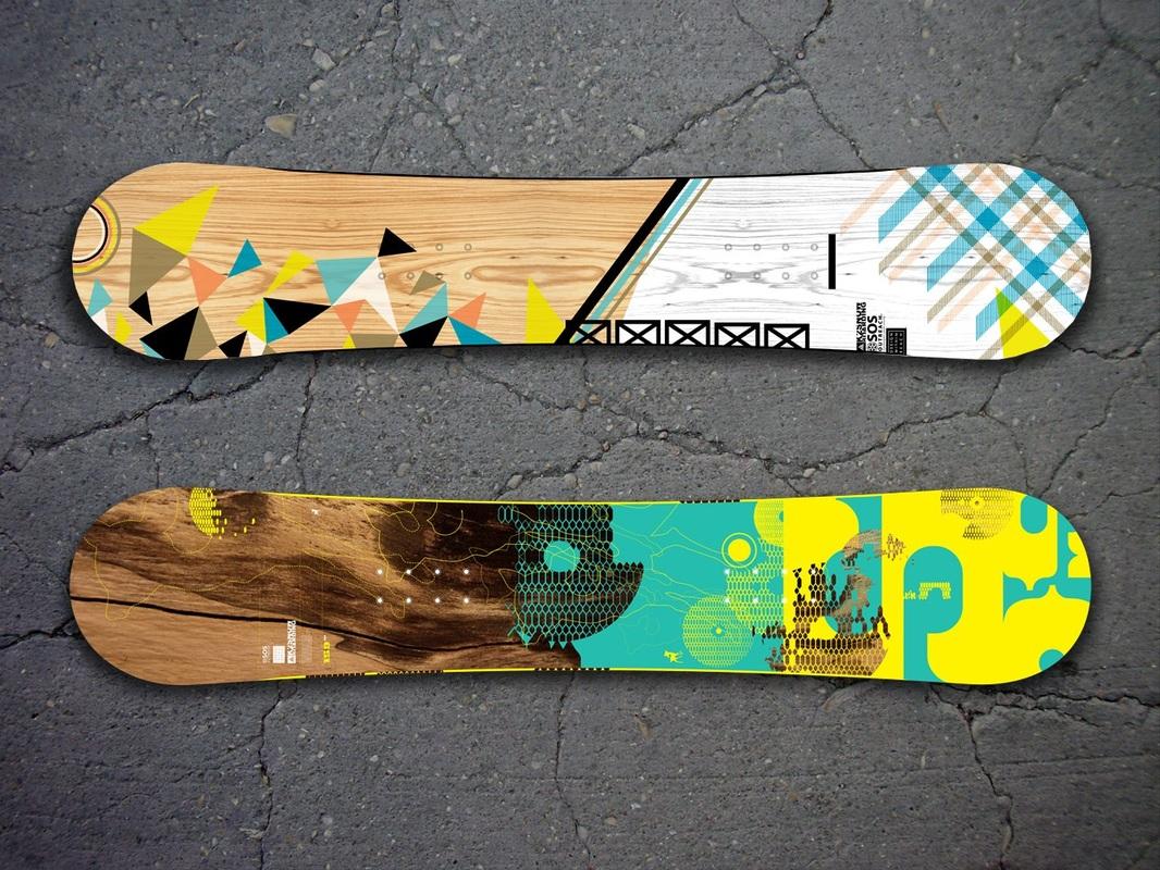 9 Skateboard Snowboard Design