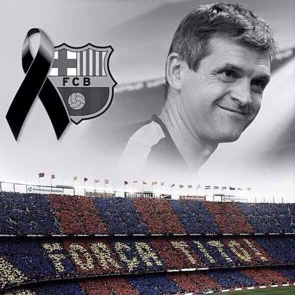 In memory of Tito Vilanova