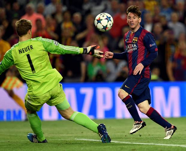 Messi, Barça and Bayern by the numbers
