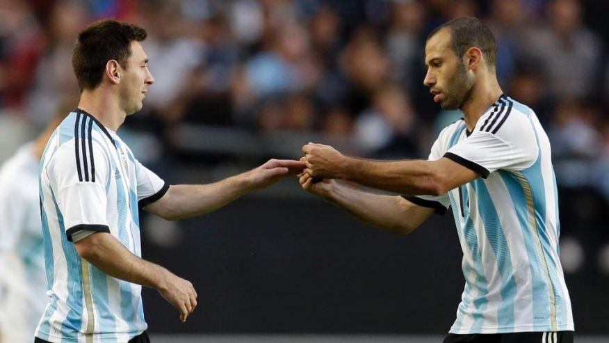 Leo Messi and Javier Mascherano set for Copa America debut