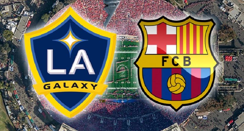 Suarez and Roberto on target as Barca beat La Galaxy