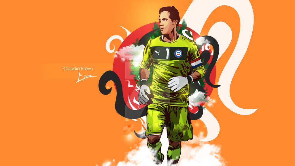 Claudio Bravo Copa América champion (0-0, 4-1 pens.)