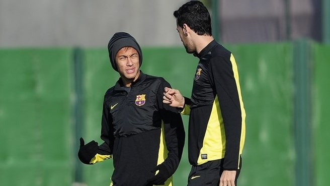 Luis Enrique: Neymar And Busquets Could Play Against Malaga