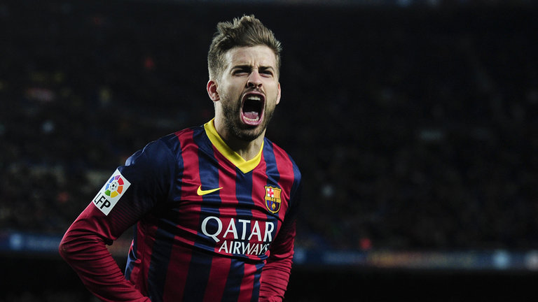 Gerard Pique is banned for 4 matches