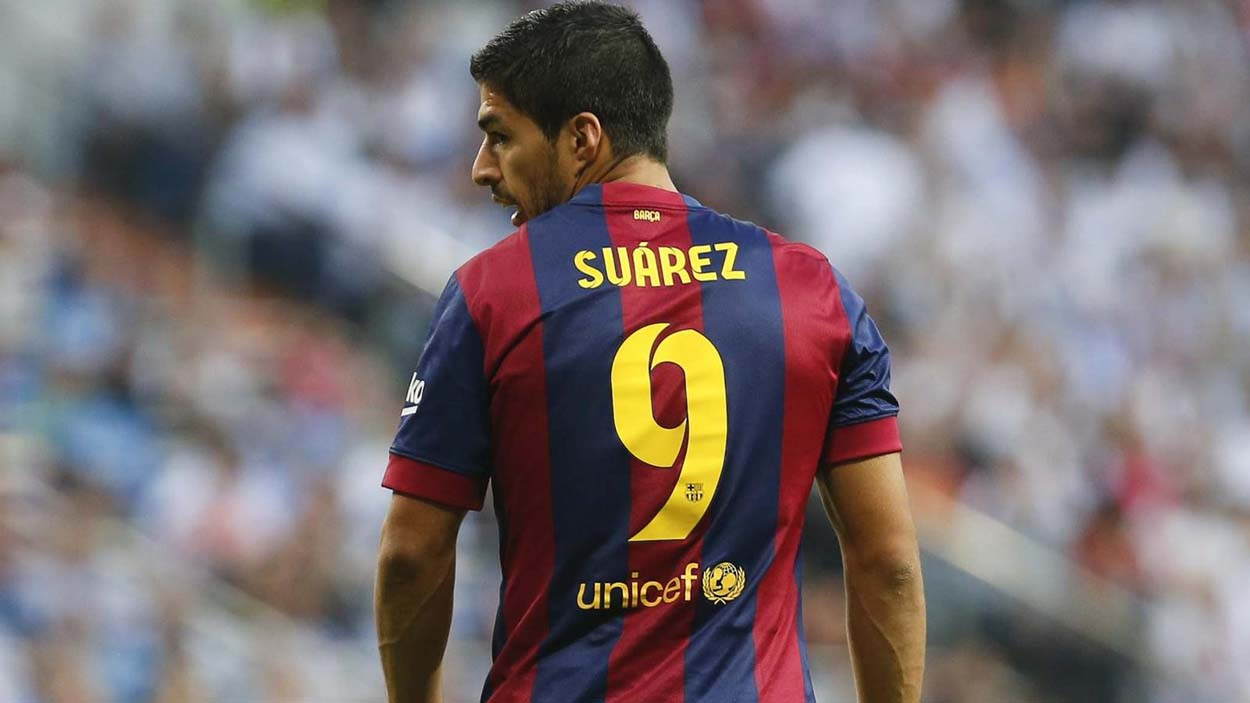Suarez refuses to place himself amongst the best