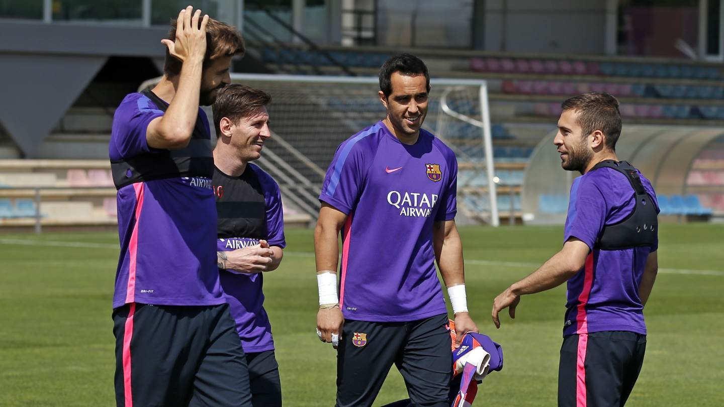 Last training session ahead of 50th Trofeu Joan Gamper